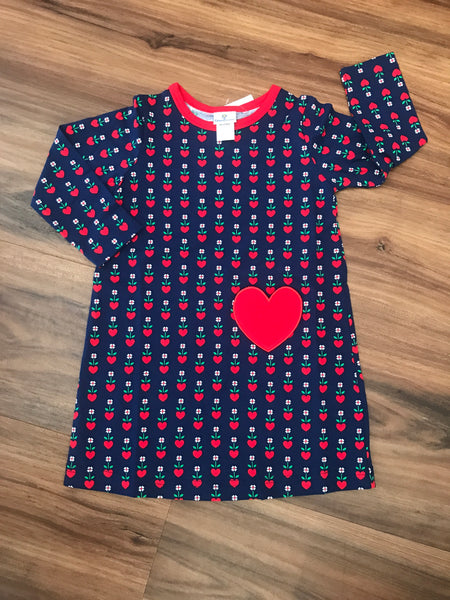 Heart Print Dress Florence Eiseman