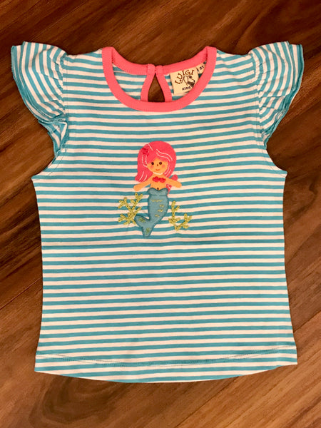 Mermaid Ruffle Tee Luigi Kids