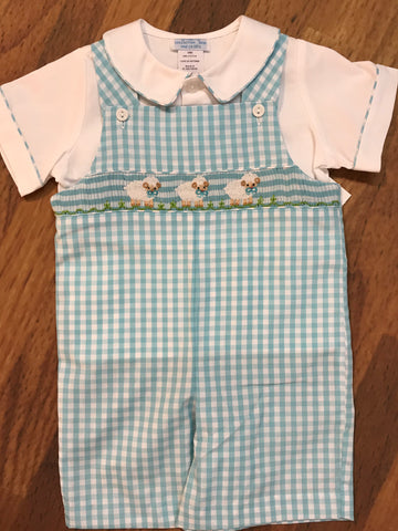 Lambs Shortall w/Shirt Toddler Collection Bebe