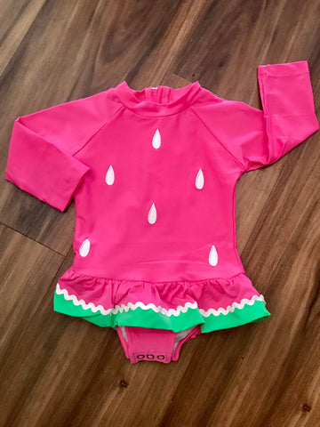 Watermelon L/S One Piece Swimsuit Florence Eiseman