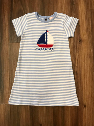 Sailboat Knit Dress Luigi Kids