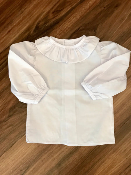 L/S Ruffle Collar Blouse Bailey Boys