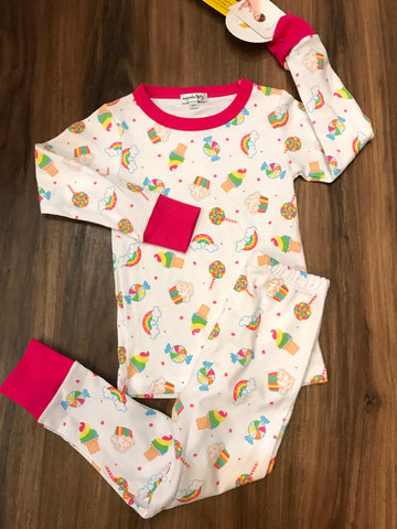 Rainbow Treats Long Pjs Magnolia Baby
