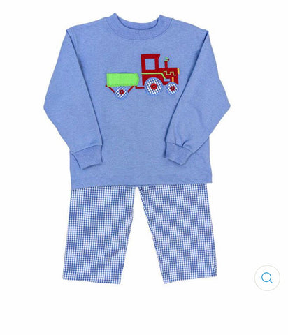 Tractor Pants Set Bailey Boys