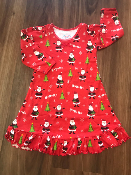 Red Santa Gown Sara's Prints