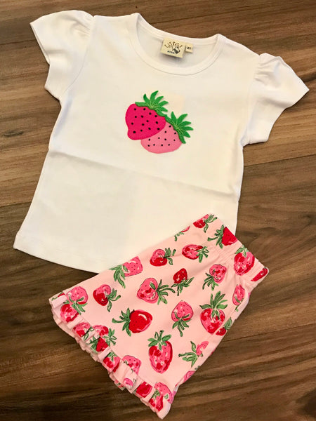Strawberry Shorts Set Luigi Kids
