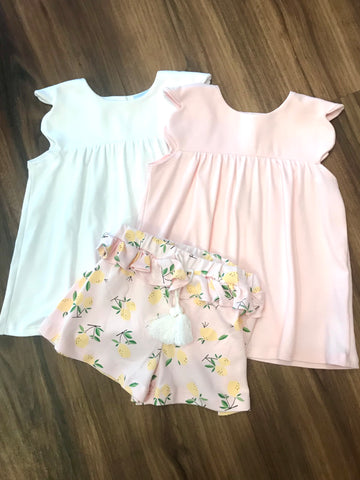 Pink Lemons Susannah Shorts Bella Bliss