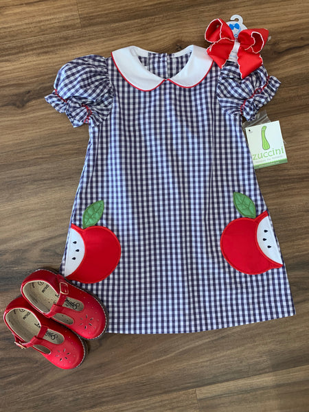 Apple Pocket Dress by Zuccini