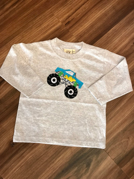 Monster Truck L/S Tee Luigi Kids