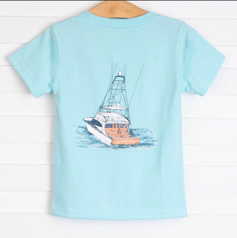 Deep Waters S/S Tee Properly Tied