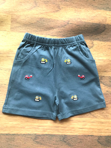 Construction Emb. Shorts w/Pockets Luigi Kids