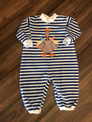 Turkey Boy Romper Funtasia Too