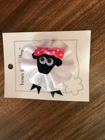 Sheep Bow Bows for Belles