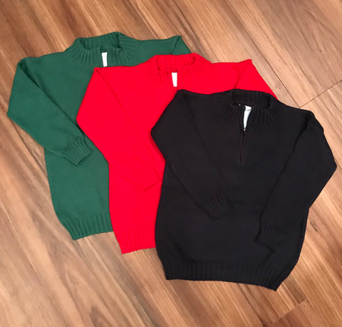 Quarter Zip Sweater Little English