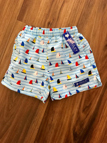 Sailboat Swim Trunks Bailey Boys