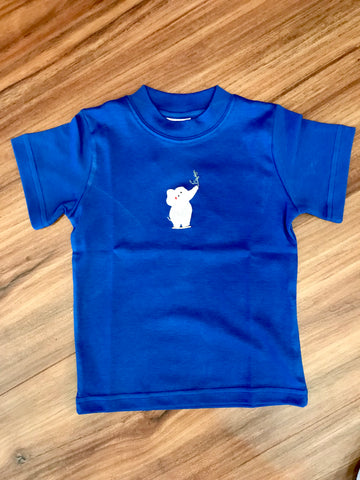 Safari Elephant S/S Toddler Tee Squiggles