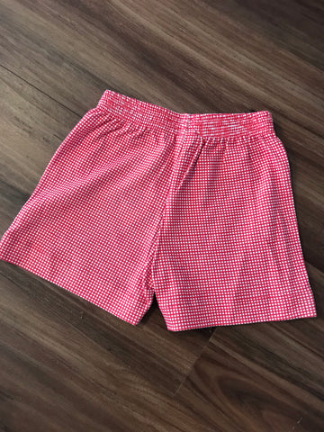 Gingham Knit Shorts Luigi Kids