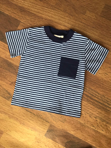 Stripe S/S Tee w/Pocket Luigi Kids