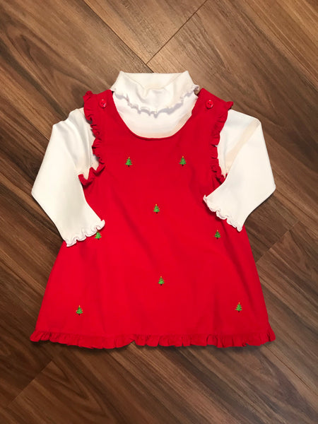 Christmas Tree Emb Child Jumper