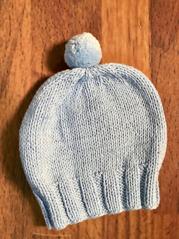 Pom Pom Hat Toddler Sizes 2h Handknits