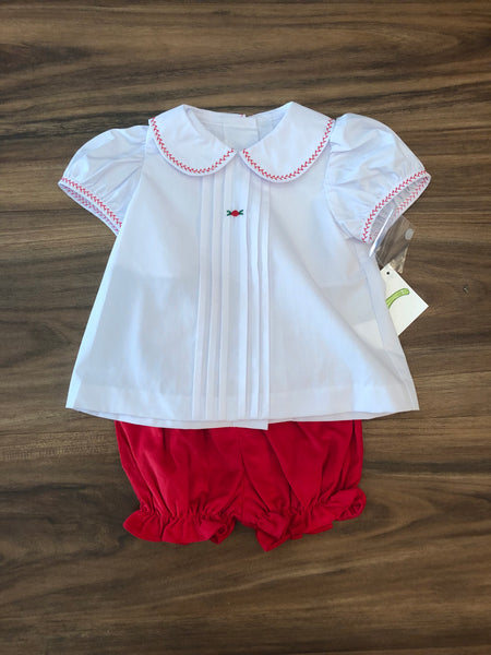Front Pleat Bloomer Set by Zuccini