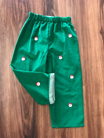 Santa Embroidered Pants Zuccini Kids