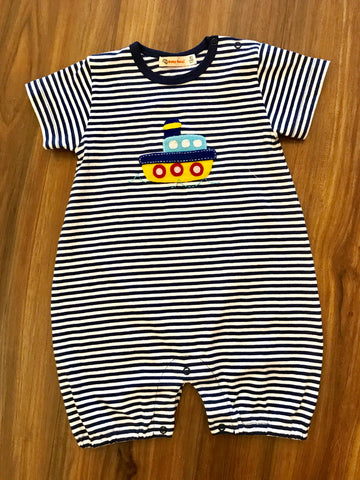Tugboat Short Romper Luigi Kids