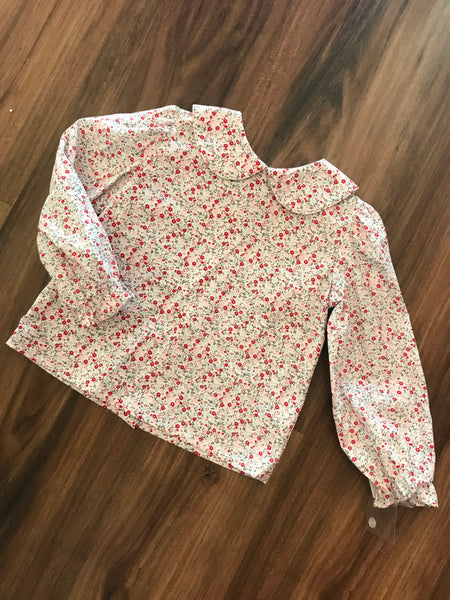 Melrose Floral Print Blouse Zuccini
