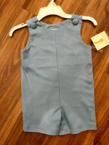 Solid Knit Shortall Zuccini