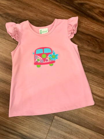 Girl Car A/S Tee Zuccini