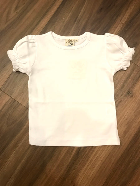 Puff Sleeve Tee Luigi Kids