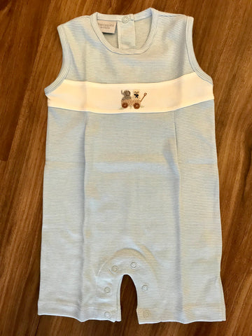 Knot Bear & Elephant Sunsuit Squiggles
