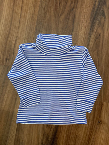 Stripe Jersey Turtleneck by Luigi Kids