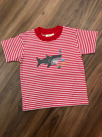 Shark w/Fish S/S Tee Luigi Kids