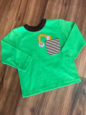 Backhoe L/S Tee Luigi Kids