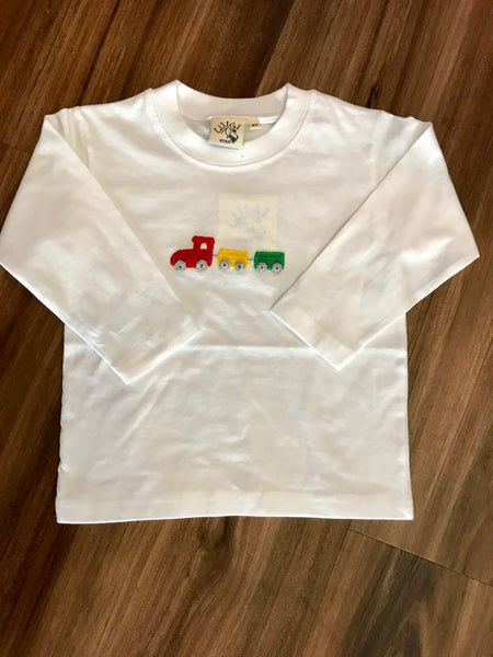 Crochet Train L/S Tee Luigi Kids