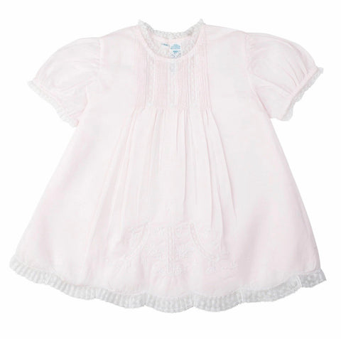 Infant Dress and Slip Pink Feltman Brothers