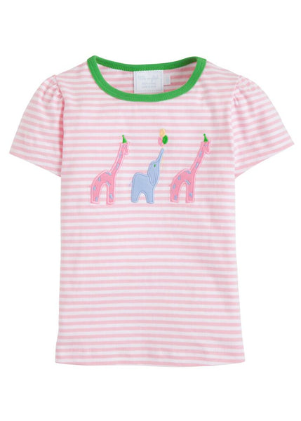 Party Animal Applique Tee Little English