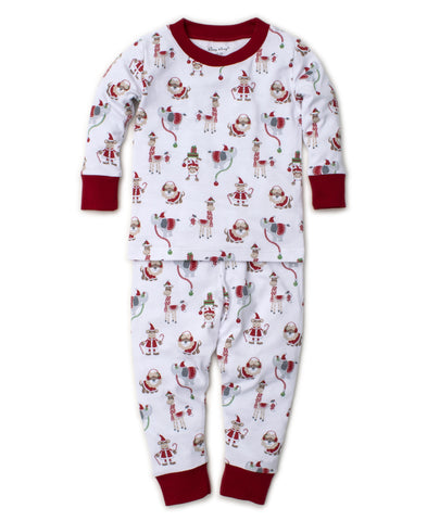 Jungle Christmas 2pc Pjs Toddler Sizes Kissy Kissy