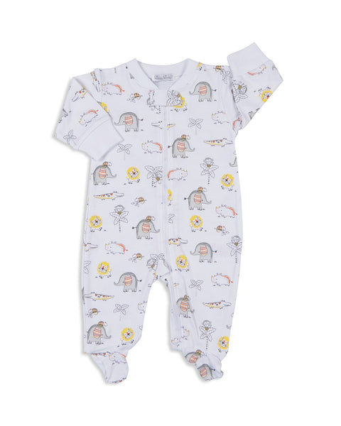 Jungle Jamboree Print Footie