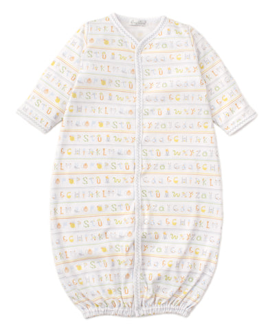 Alphabet ABC's Conv. Gown Kissy Kissy
