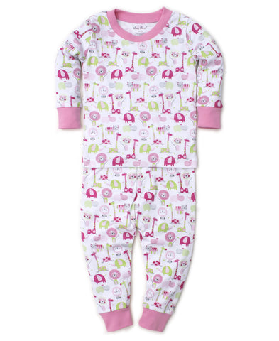 Jazzy Jungle 2pc Pjs Month Girl Kissy Kissy