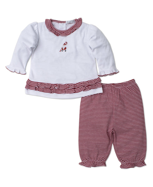 Kris Kringle Girl Pant Set Kissy Kissy