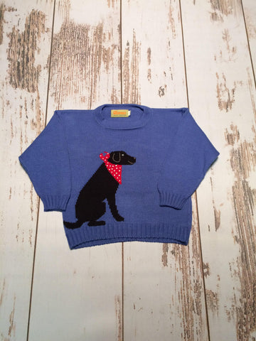 Black Lab Sweater Claver Sweaters