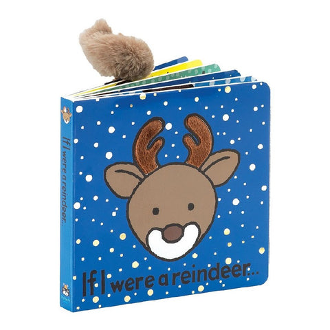 If I Were A Reindeer Book Jellycat