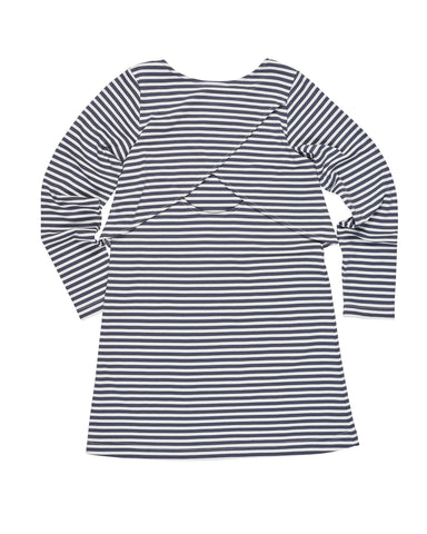 Grey Stripe Dress Florence Eiseman