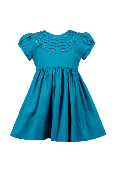 London Scalloped Dress The Proper Peony