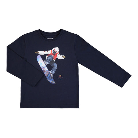 Snowboarder L/S Tee Mayoral