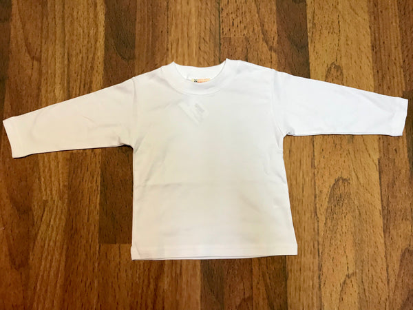 L/S Boy Plain Toddler Tee Luigi Kids