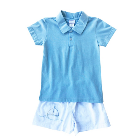 Sailboat Short Set Lullaby Set